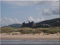 SH5831 : Harlech Castle by Pat Barton