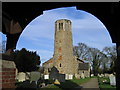 TG3006 : St Mary's Church, Surlingham by Graham Hardy
