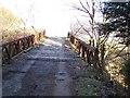 NS1883 : Bridge over Blairmore burn by william craig