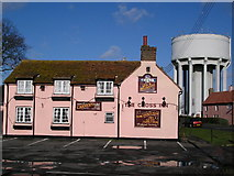 TM1227 : The Cross Inn by Roger W Haworth