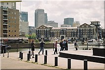 TQ3680 : Limehouse Basin by Pierre Terre