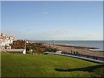 TQ7407 : Bexhill on Sea Christmas Day 2005 by Janet Richardson