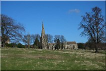 SP9676 : St Mary's Church Woodford by Will Lovell