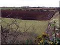 SW4227 : Winter fields near Catchall by Sheila Russell
