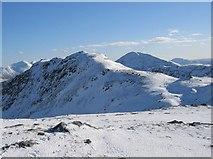 NN3835 : Stob nan Clach (southern ridge of Creag Mhor) by Hill Walker