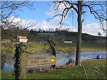 SE7365 : River Derwent, Kirkham by Stephen Horncastle