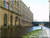 SE1438 : Salt's Mill from the canal, Saltaire by Rich Tea