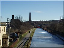 SE1537 : Leeds and Liverpool Canal from Gallows Bridge by Rich Tea
