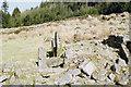 SX6582 : Hut circle, Assycombe by Derek Harper