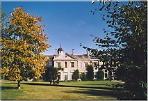 TQ1352 : Polesden Lacey, the West Front. by Colin Smith