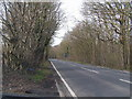 TQ4739 : The Road to Edenbridge (B2026) by N Chadwick