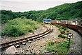 SH6742 : Rheilffordd Ffestiniog Railway Line Spiral by Ken Crosby
