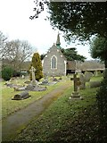 TL0106 : St. John the Evangelist church & churchyard by Edward Farrow