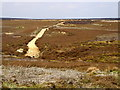 SE7093 : Moorland Path by Andy Beecroft
