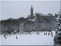 NS5766 : Winter Merriment in Kelvingrove Park by Chris Upson