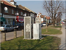 TQ2081 : Air quality monitor, Horn Lane, North Acton by David Hawgood