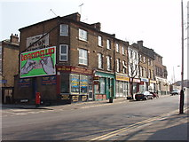TQ2081 : Horn Lane junction with  York Road, North Acton by David Hawgood