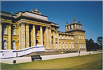 SP4416 : Blenheim Palace, the South Front. by Colin Smith