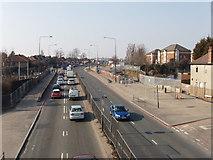 TQ2081 : Western Avenue (A40), North Acton by David Hawgood