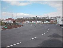 SD7912 : Burrs Caravan Site by Dennis Turner