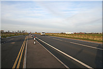SK6513 : Rearsby Bypass, Leicestershire by Kate Jewell