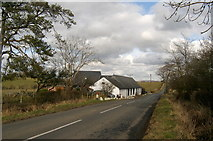 NS4421 : Gibston Cottage, Ayrshire by L J Cunningham