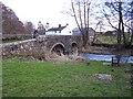 NY4532 : River bridge at Great Blencow. by John Holmes
