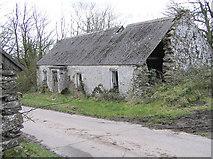 H5664 : Ruined cottage at Radergan by Kenneth  Allen