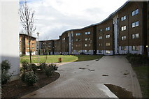 TQ0070 : Wedderburn Accommodation Block at Royal Holloway University by Terry Butcher