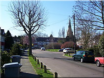 TQ2087 : St Andrew's Road Kingsbury by Robert Timms