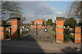 SK5813 : Rothley Cemetery by Kate Jewell