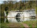 SK1772 : River Wye above Cressbrook Mill by John Stolarski