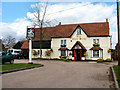TL2616 : The White Horse, Burnham Green by Melvyn Cousins