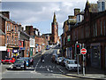 NX9775 : Dumfries, view to St Michael's Church by Kevin Rae