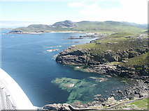 NM4167 : View from the top of Ardnamurchan Light house by david stowe