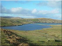 HU3581 : Loch of Queyfirth, Shetland by John Dally