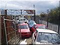 TQ4870 : Scrapyard, Upper Ruxley, Kent by Dr Neil Clifton