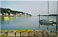 NX8355 : Moorings at Kippford from the Jetty. by Colin Smith