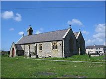 SH3568 : St. Beuno's Church, Aberffraw by Phil Williams