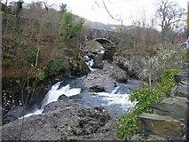 SH7357 : Afon Llugwy by Hugh Venables