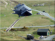SH7783 : Halfway Tram Station on the Great Orme by Nigel Williams