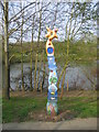 SP0567 : Milepost by David Stowell