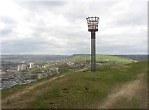 SE1025 : Halifax Beacon, Southowram by Humphrey Bolton