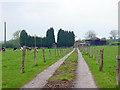 SK0835 : Cottage Farm, Spath by Linda Bailey