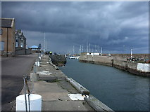 NJ2371 : Lossiemouth Harbour by Christopher Gillan