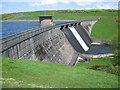 SW4328 : Spillway at Drift Dam by Phil Williams