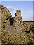 SD7559 : Millstone Whelp Stone Crag by Michael Graham