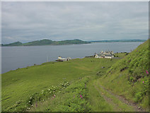 NS1351 : The Lighthouse, The Wee Cumbrae by Robert Watson