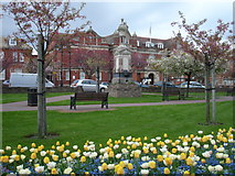 TQ7407 : Town Hall Sq Bexhill-on-Sea East Sussex by Janet Richardson