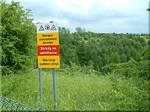 SK1827 : Site of the Fauld Explosion near Hanbury, Staffs. by Frank Smith